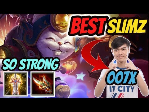 Slimz BEST Build INSANE Damage by 007X AWC FINALIST | Best ADC Jungler after patch??