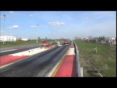 Wipe Out - US 36 Raceway, Osborn, Mo, April 11, 2015