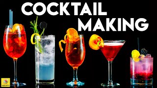 How to Make: Quick & Simple Cocktails with Vodka   White Rum   Bacardi