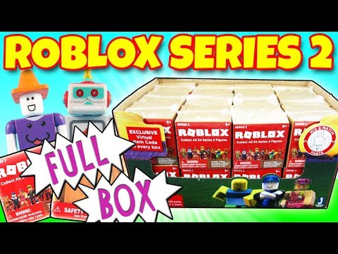 Roblox Series 2 Blind Box Full Case Unboxing Full Set O