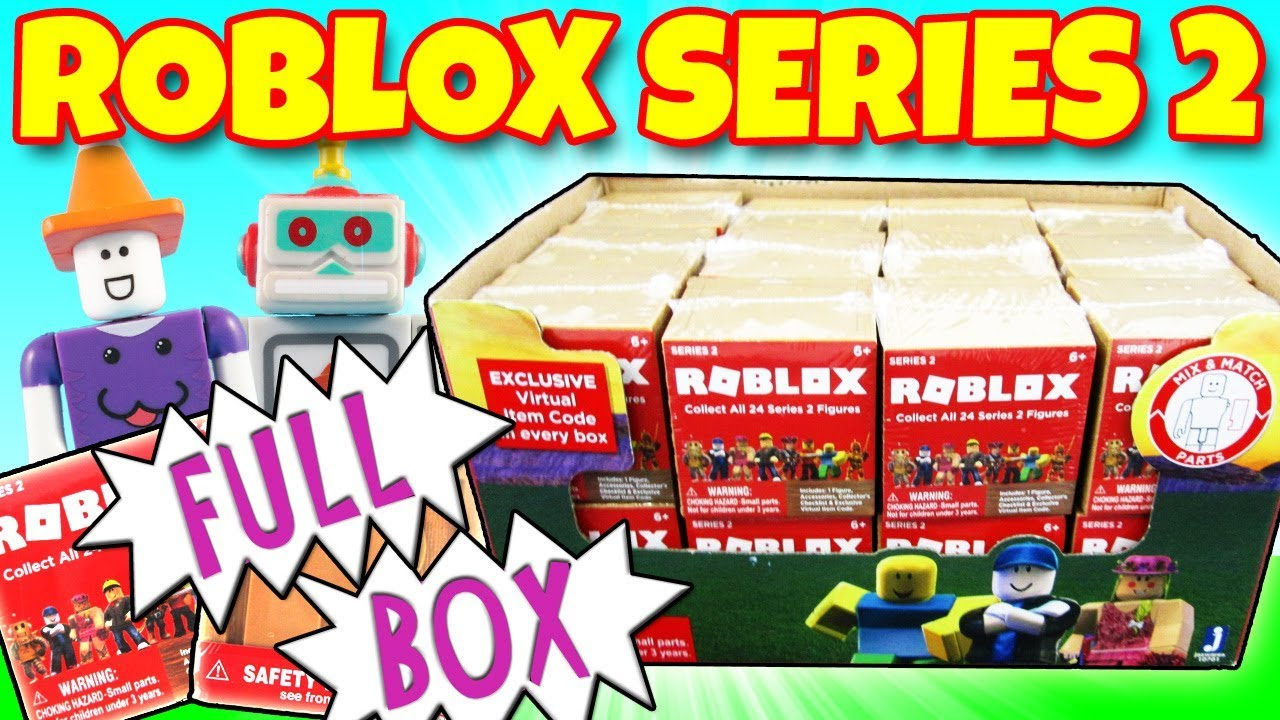 Roblox Series 2 Full Blind Box Of 24 Mystery Boxes Opening Toy Review Trusty Toy Channel - roblox series 2 full blind box of 24 mystery boxes opening toy review trusty toy channel