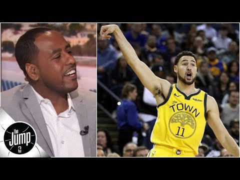 43 points, 4 dribbles: What Klay Thompson's game vs. Knicks means | The Jump