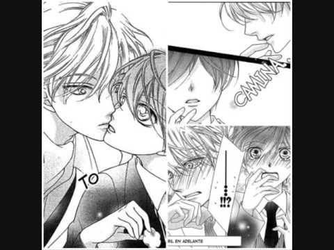 haruhi and tamaki kiss