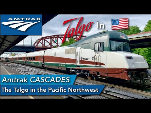 The Amtrak Cascades train : The only Spanish Talgo in North America