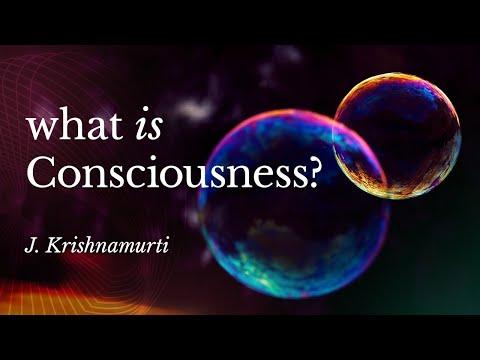 What Is Consciousness? – Krishnamurti