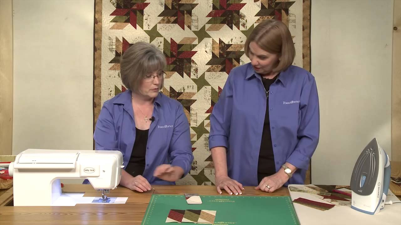 How to Make the Old Sawmill Quilt - YouTube : youtube quilting tutorial - Adamdwight.com