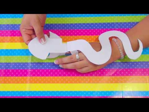 Curso de Verano Educación Preescolar - Serpientes de papel - ♥ MissClasecitas