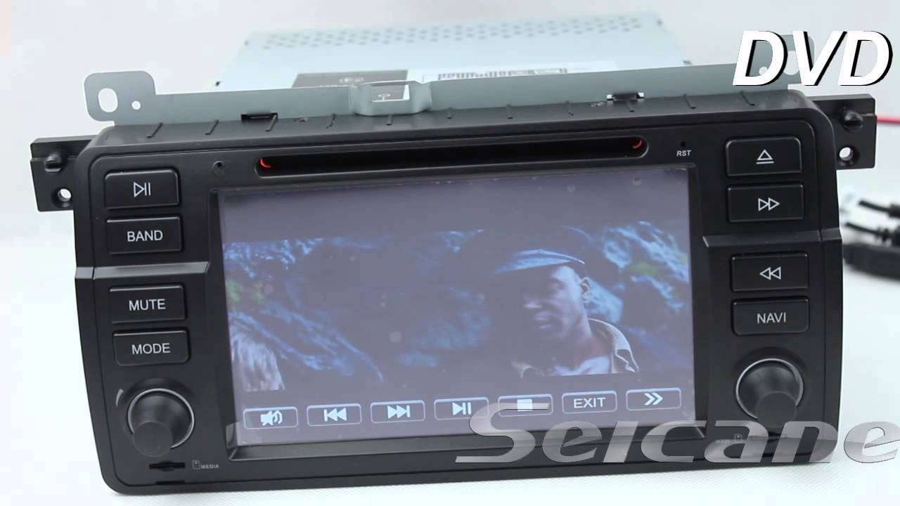 bmw 3 series e46 android dvd player gps radio with touch. Black Bedroom Furniture Sets. Home Design Ideas