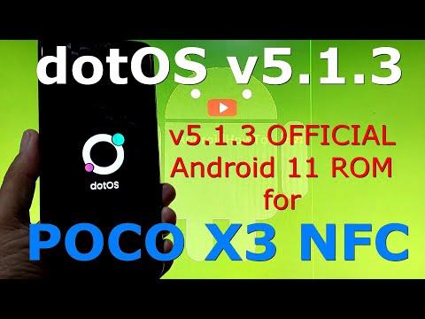 dotOS v5.1.3 OFFICIAL for Poco X3 NFC (Surya) Android 11