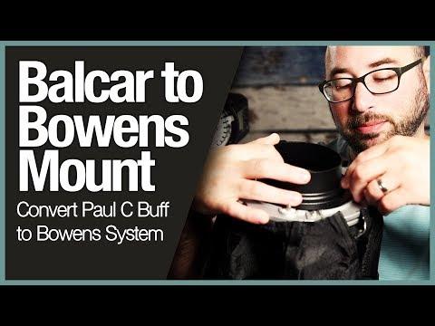 Balcar to Bowens Mount - Convert Paul C Buff to Bowens System