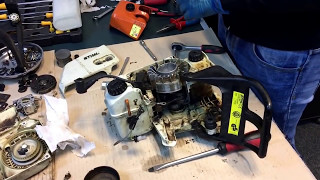 Montat set motor si ambielaj Stihl Ms 250, 025, Ms 230, 023, Ms 210, 021