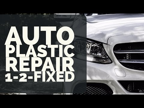 Best Glue for Plastic Auto Parts - Grill Cover Repair | 1-2-Fixed with Tech-Bond