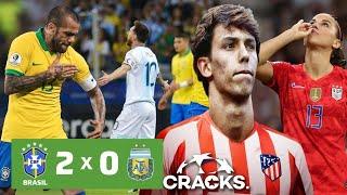 BRASlL elimina a ARGENTlNA  