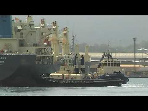 Voge Lena arrives at Port Kembla