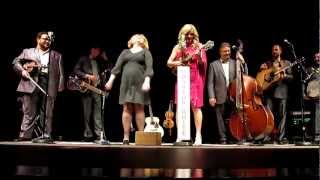 Rhonda Vincent | Alice Joins In On Martha White Theme Song | 01-03-13
