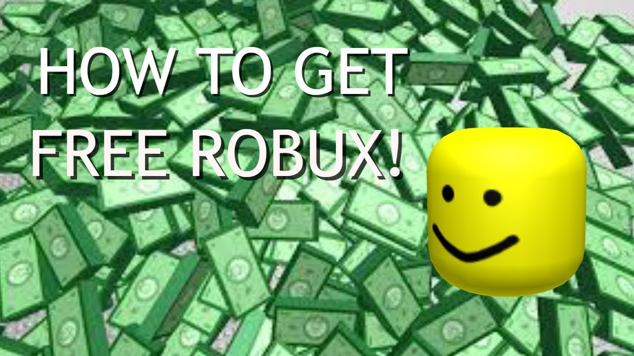 HOW TO GET FREE ROBUX!!! - YouTube