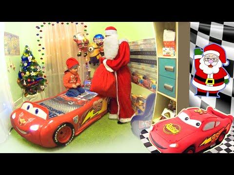 Подарки от Святого Николая на Новый Год. Surprise Toys Christmas Presents