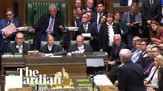 MPs praise John Bercow for his time as Speaker