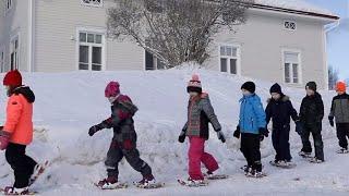 フィンランド北部イー市は化石燃料の使用をやめ、二酸化炭素の排出量を...