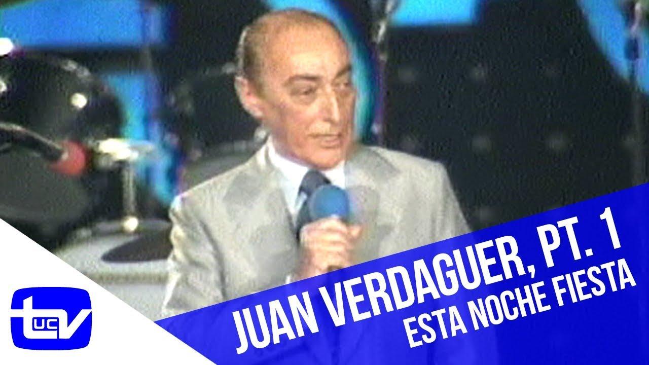 El humor de Juan Verdaguer (Parte 1) | Esta Noche Fiesta