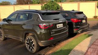 BMW X1 25i ou Jeep Compass Limited Diesel?