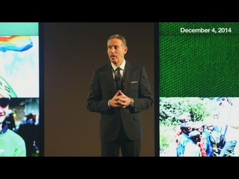 Howard Schultz's inspiring challenge to corporate Am...