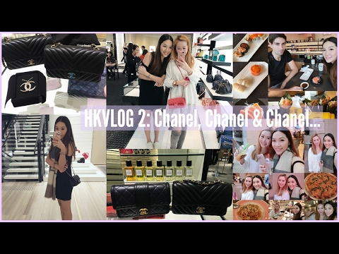 HKVLOG2: Chanel, Chanel & Chanel...♥ft. Lindiess | ANGELBIRD