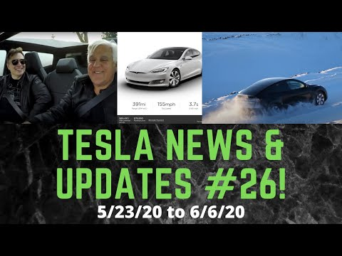 Tesla News Update #26 for 5/23/20 to 6/6/20 -price drops, superchargers, Cybertruck, rockets & more!