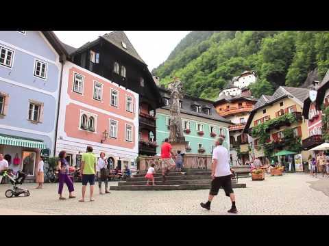 Видео-путешествие. Австрия. Озера.