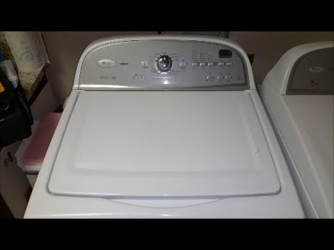 Whirlpool Cabrio Washer Stops Mid Cycle