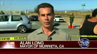 Mayor Alan Long Of Murrieta, California Reacts To The Rising Tensions On The Southern Border