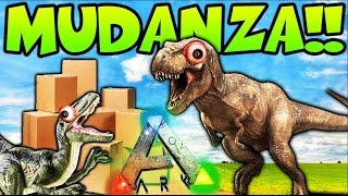 MUDANZA!! ME CAMBIO DE TRIBU Y DE LOCALIZACION!! LOCURA TOTAL - ARK SURVIVAL EVOLVED MODS - Patty