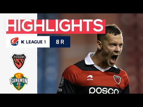 Pohang Gangwon Goals And Highlights