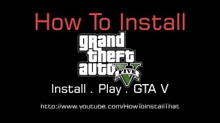 How To Install GTA 5 On PC In Windows 10 | GTA V For PC Install Time & Size
