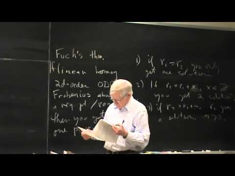 Lecture 27:  Physical Mathematics at UNM Fall 2015