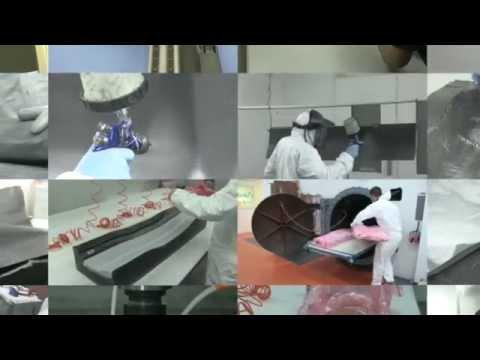 How Polar Manufacturing creates prepreg rear wings for the Ariel Atom