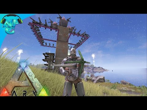 S4E23 - Defense of Herbivore Island! ARK: Survival Evolved P