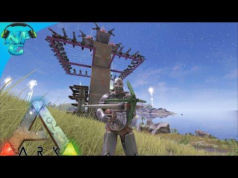 S4E23 - Defense of Herbivore Island! ARK: Survival Evolved PVP Season