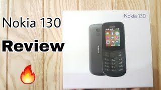 New Nokia 130 Dual SIM Unboxing & Review Hands On 2018
