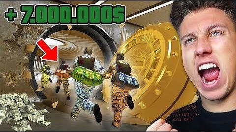 DER 7.000.000$ BANKÜBERFALL! - GTA 5 Casino Heist DLC