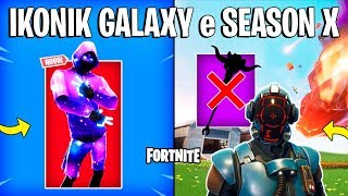 FORTNITE - SKIN IKONIK GALAXY, ITEM REMOVED AND VISITOR?