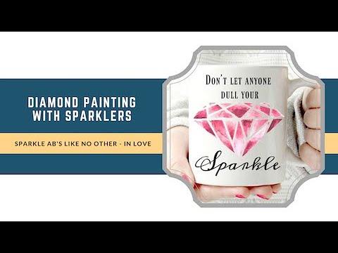 New Product: Sparkle Sparkle Sparkle - diamond painting