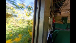 Train ride from Pyin Oolwin to Gotheik Viaduct