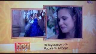 Macarena Achaga  #EME15 @Macabeso en @Programa_Hoy