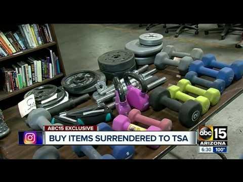 TSA selling treasured items left behind at airports