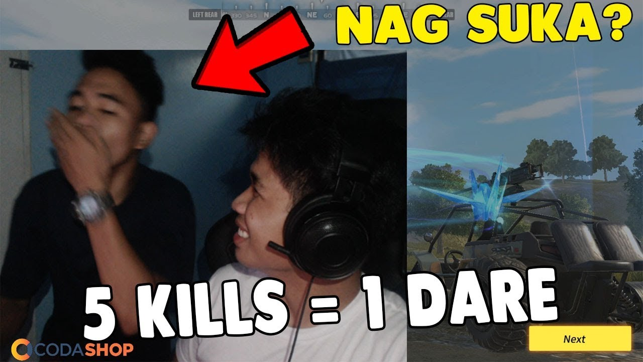 5 KILLS = 1 DARE [TAGALOG] (Rules of Survival: Battle Royale)