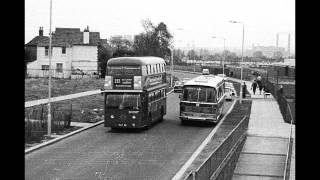 Buses in Black and White 1 - British buses and trolleybus of the 60s and 70s