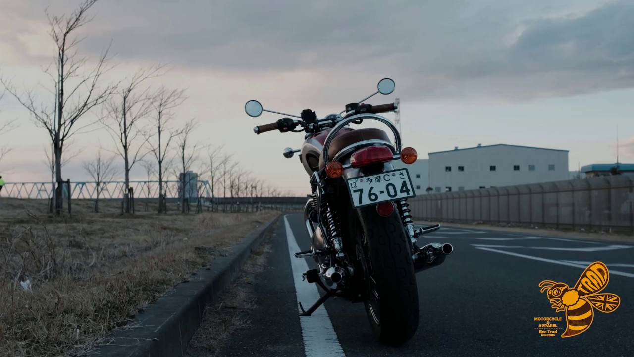 [BEE TRAD] X-BLAST Triumph T120  マフラー サイレンサー