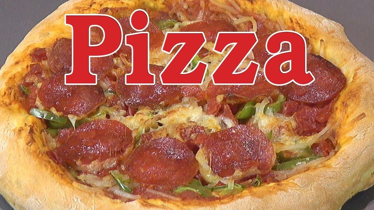 Cách Làm Bánh Pizza Ngon, Đơn Giản Tại Nhà – Làm Đế Bánh Pizza – Nguyễn Hải