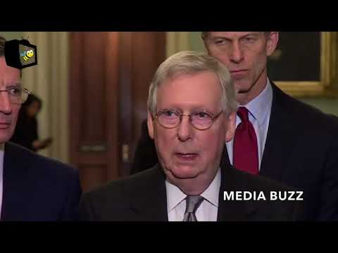 Senator Mitch McConnell Comments On Robert Mueller Special Counsel Russia Investigation 3/20/18